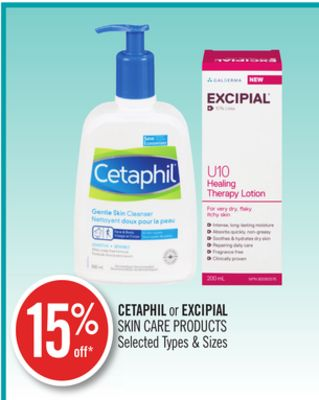 Cetaphil or Excipial Skin Care Products