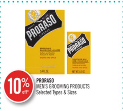 Proraso Men's Grooming Products
