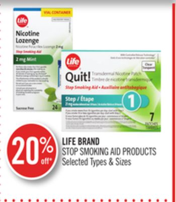 Life Brand Stop Smoking Aid Products