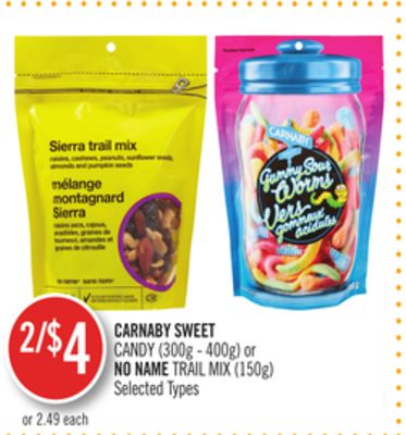 Carnaby Sweet Candy (300g - 400g) or No Name Trail Mix (150g