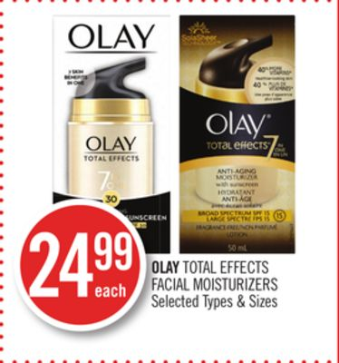 Olay Total Effects Facial Moisturizers