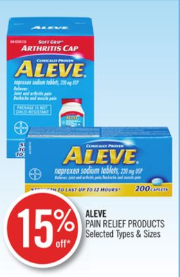 Aleve Pain Relief Products