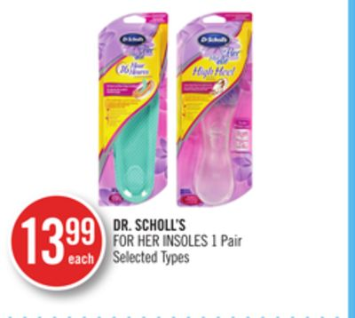 Dr. Scholl's For Her Insoles 1 Pair