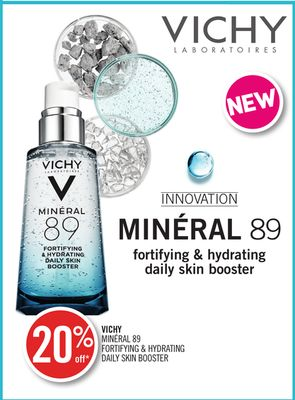 Vichy Minéral 89 Fortifying & Hydrating Daily Skin Booster