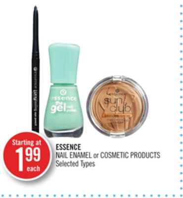 Essence Nail Enamel or Cosmetic Products