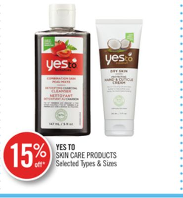 Yes To Skin Care Products
