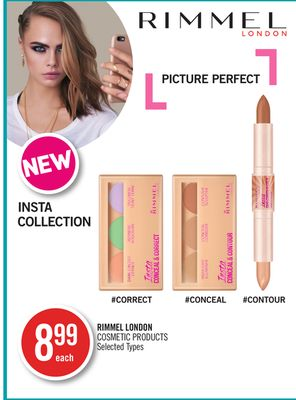 Rimmel London Cosmetic Products