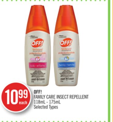 Off! Family Care Insect Repellent