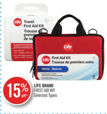 Life Brand First Aid Kit
