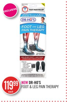 New Dr-ho's Foot & Leg Pain Therapy