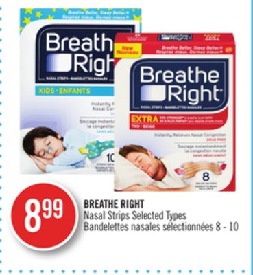 Excited Cns breathe right strips marketing something