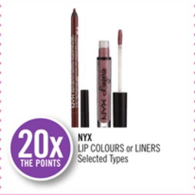 Nyx Lip Colours or Liners