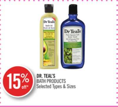 Dr. Teal's Bath Products