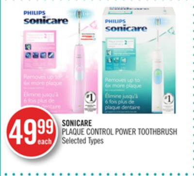 Sonicare Plaque Control Power Toothbrush