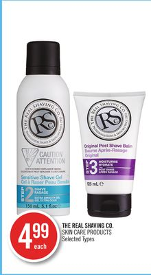 The Real Shaving Co. Skin Care Products