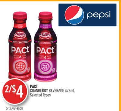 Pact Cranberry Beverage