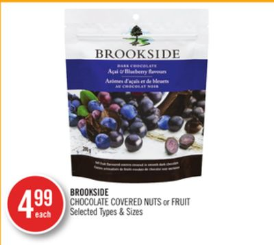 Brookside Chocolate Covered Nuts or Fruit
