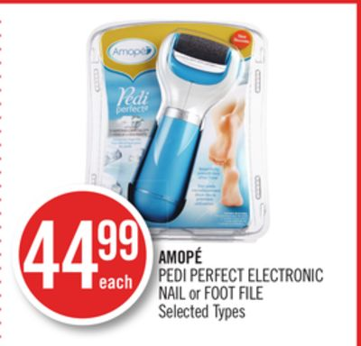 Amopé Pedi Perfect Electronic Nail or Foot File