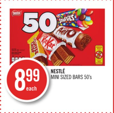 Nestlé Mini Sized Bars