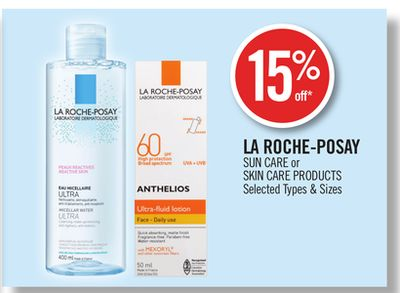 La Roche-posay Sun Care or Skin Care Products