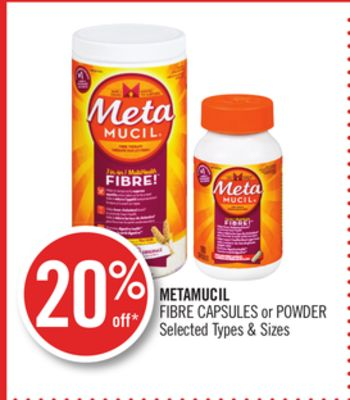 Metamucil Fibre Capsules or Powder