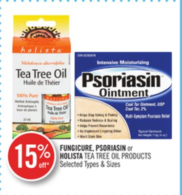 Fungicure - Psoriasin or Holista Tea Tree Oil Products