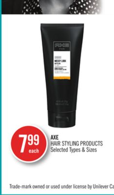 Axe Hair Styling Products