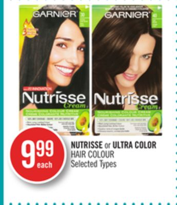 Nutrisse or Ultra Color Hair Colour