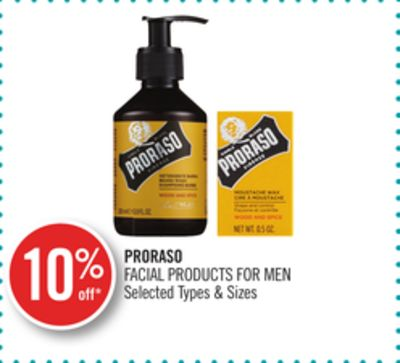 Proraso Facial Products For Men