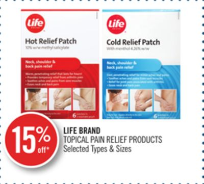 Life Brand Topical Pain Relief Products