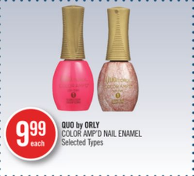 Quo By Orly Color Amp'd Nail Enamel