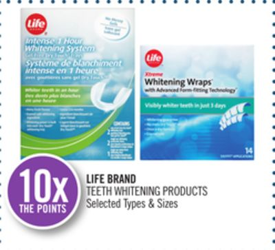Life Brand Teeth Whitening Products