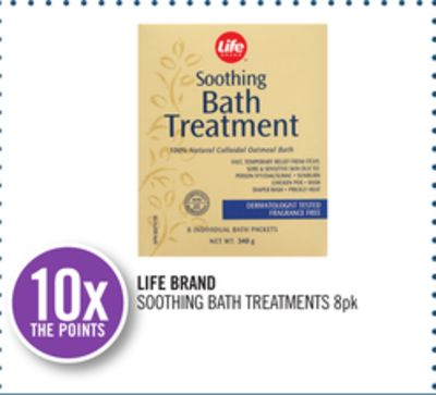 Life Brand Soothing Bath Treatments