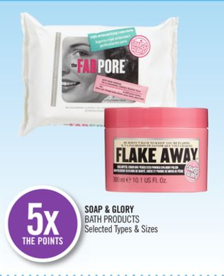 Soap & Glory Bath Products