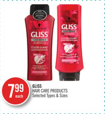 Gliss Hair Care Products