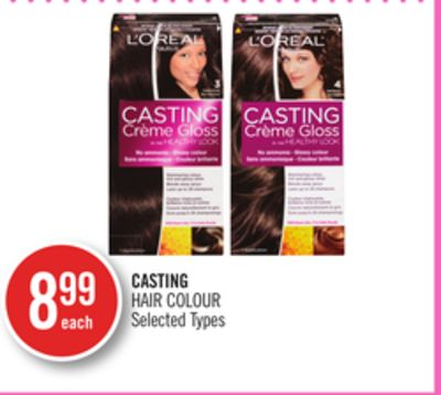 Casting Hair Colour