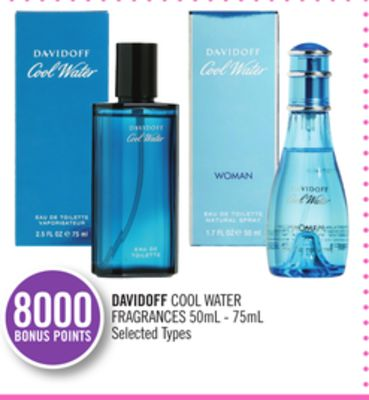 Davidoff Cool Water Fragrances