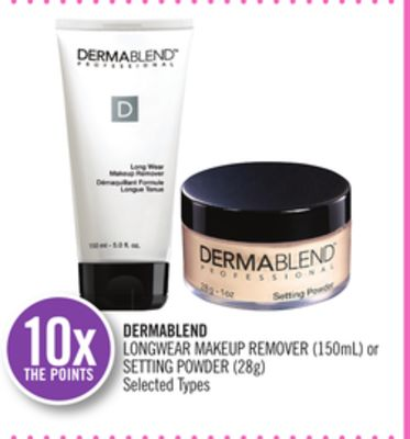 Dermablend Longwear Makeup Remover (150ml) or Setting Powder (28g)
