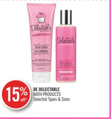 Be Delectable Bath Products