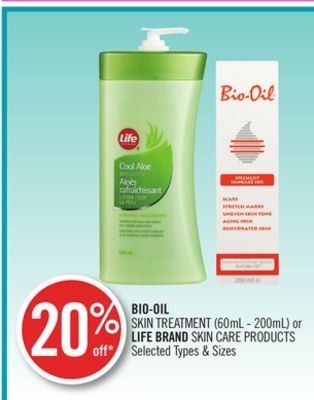 Bio-oil Skin Treatment or Life Brand Skin Care Products