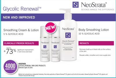 Neostrata Glycolic Renewal Skin Care Products