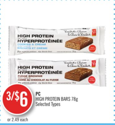PC High Protein Bars