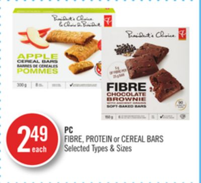 PC Fibre - Protein or Cereal Bars