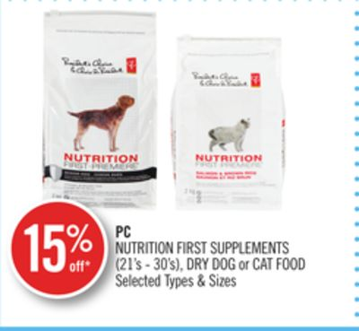 PC Nutrition First Supplements (21's - 30's) - Dry Dog or Cat Food