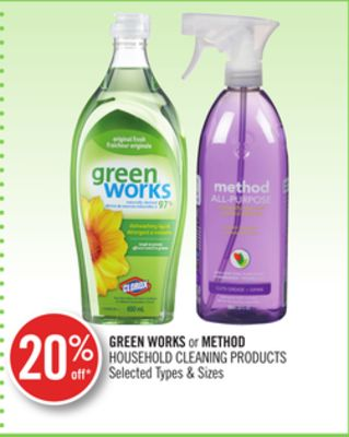 Green Works or Method Household Cleaning Products
