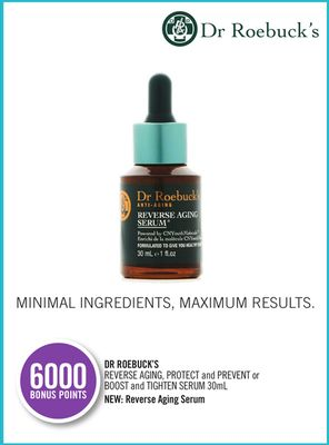Dr Roebuck's Reverse Aging - Protect and Prevent or Boost and Tighten Serum