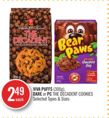 Viva Puffs - Dare or PC The Decadent Cookies