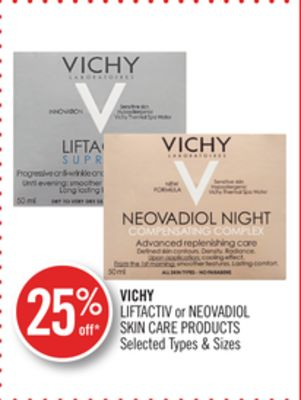 Vichy Liftactiv or Neovadiol Skin Care Products
