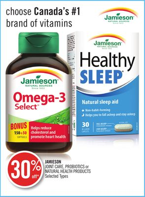 Jamieson Joint Care - Probiotics or Natural - Health Products