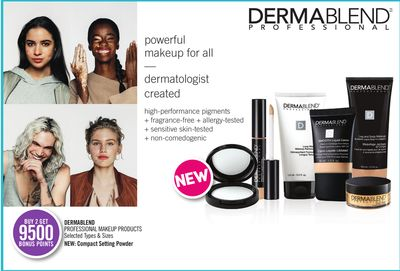 Dermablend Professional Makeup Products